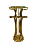 Gold Cocktail Table