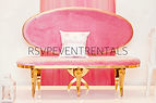 Pink Christie Loveseat