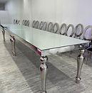 Silver Bella Table
