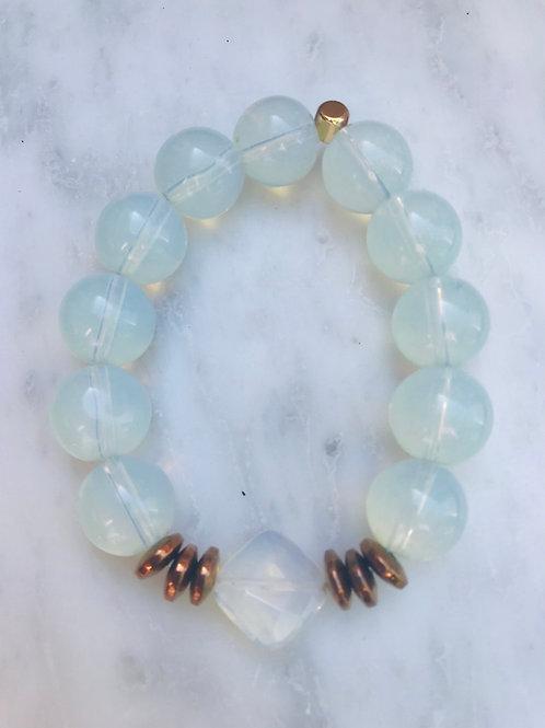 Opalite Large Stone Bracelet