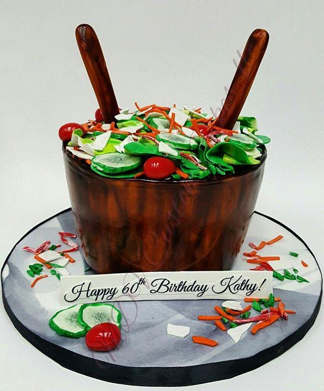 Salad Bowl Cake