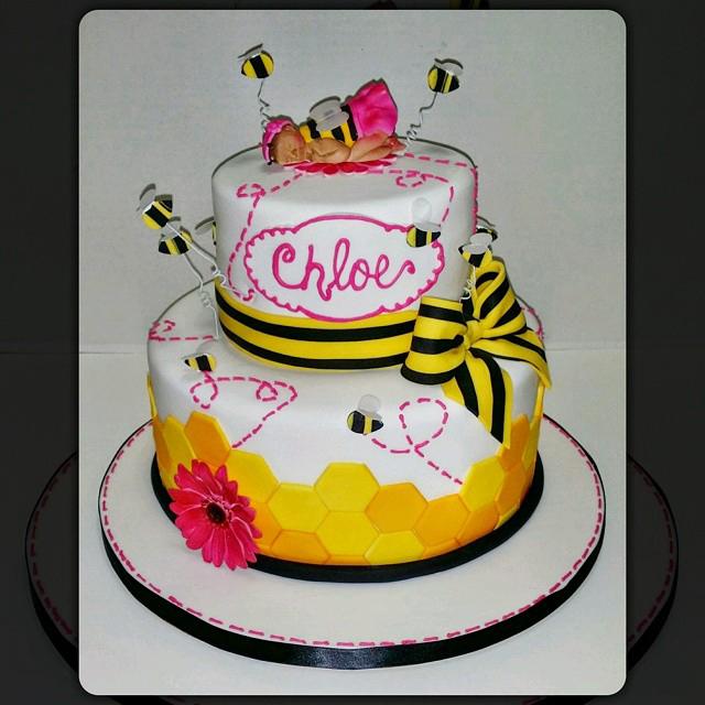 Bee Girl Babyshower