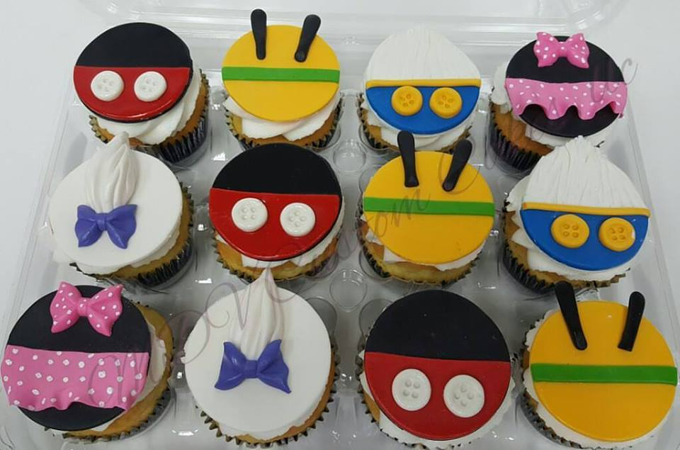Mickeys Clubhouse Cupcakes