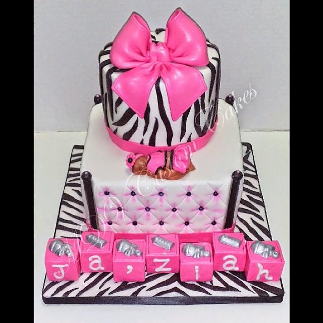 Zebra Girl Babyshower