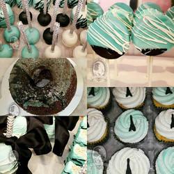 Tiffany Blue Paris Desserts