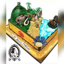 Moana Cake_#mdvcustomcakes #mdvcustomcakeboutique #yonkers #westchester #kimball #cakebosslady #cust