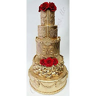Golden Opulence Reboot_#mdvcustomcakeboutique #ny #nyc #royal #customcakes #mdvcustomcakes #wedding