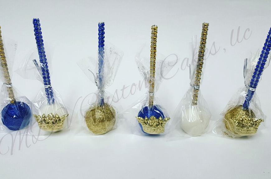 Royal Prince Cake Pops
