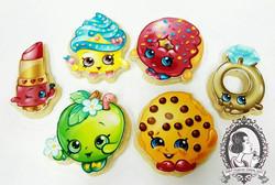 Shopkins Sugar Cookies