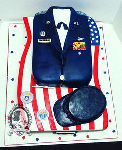 Another favorite. Alot of time went into this large cake. Especially since it was for my friends mot