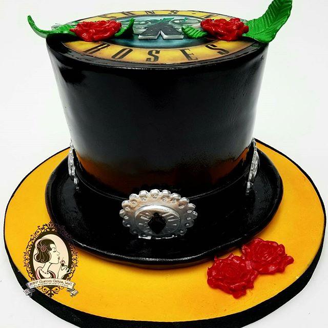 Guns N Roses Cake