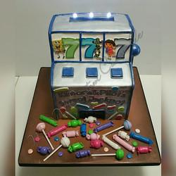 Lucky 7 Slot Machine Sweets Jackpot