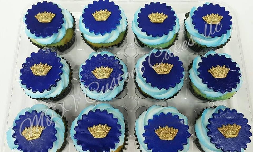 Royal Prince Cupcakes