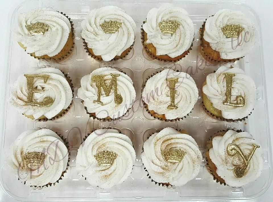 Name & Crowns Cipcakes