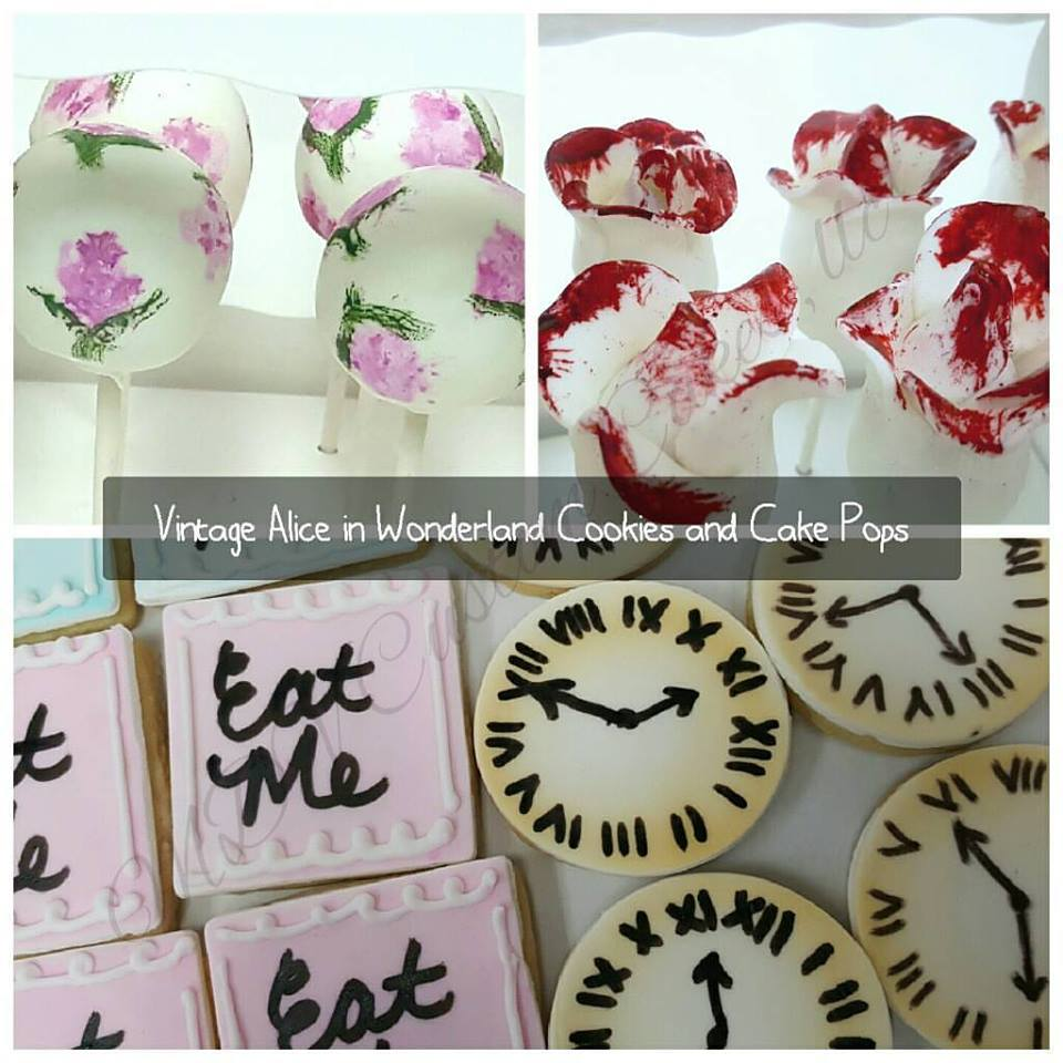 Vintage Alice in Wonderland Desserts