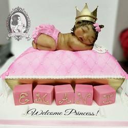 Lifesize Sleeping Baby Cake
