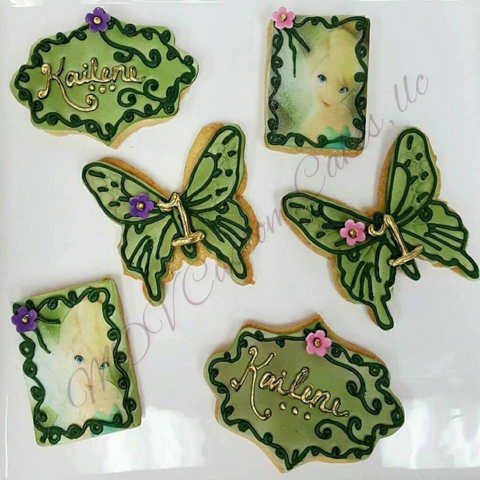 Tinkerbelle Sugar Cookies