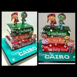 Super Why Cake