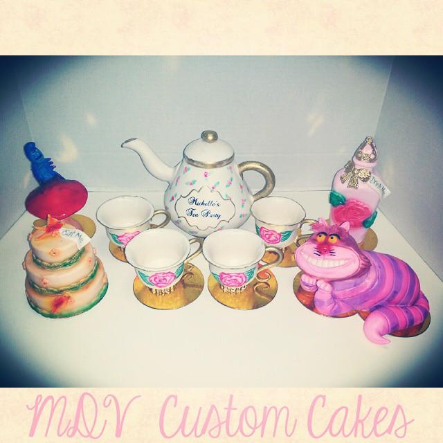 Alice In Wonderland Tea Babyshower