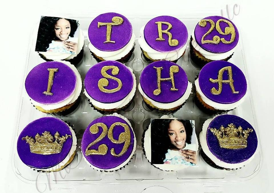 Name & Photo Cupcakes