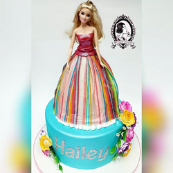 Barbie Dress Cake