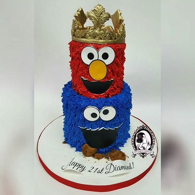 Elmo/Cookie Monster