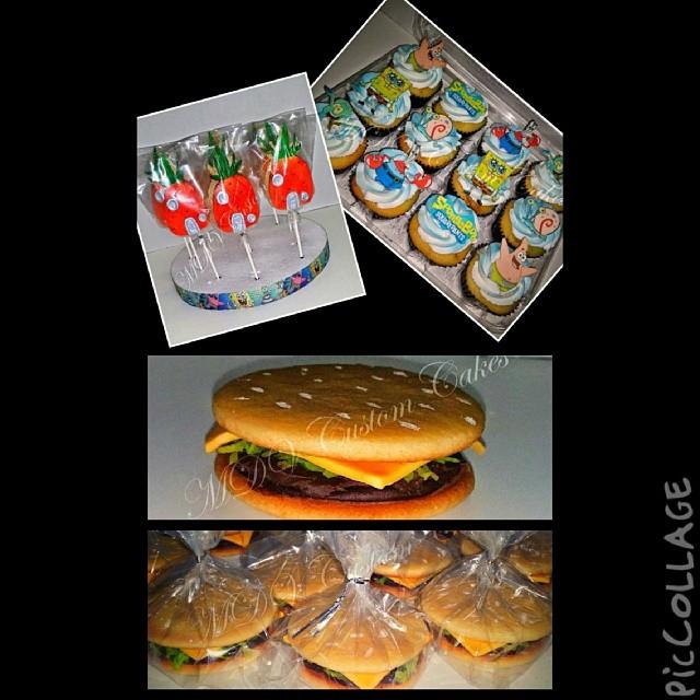 Spongebob Desserts