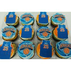 Knicks Cupcakes