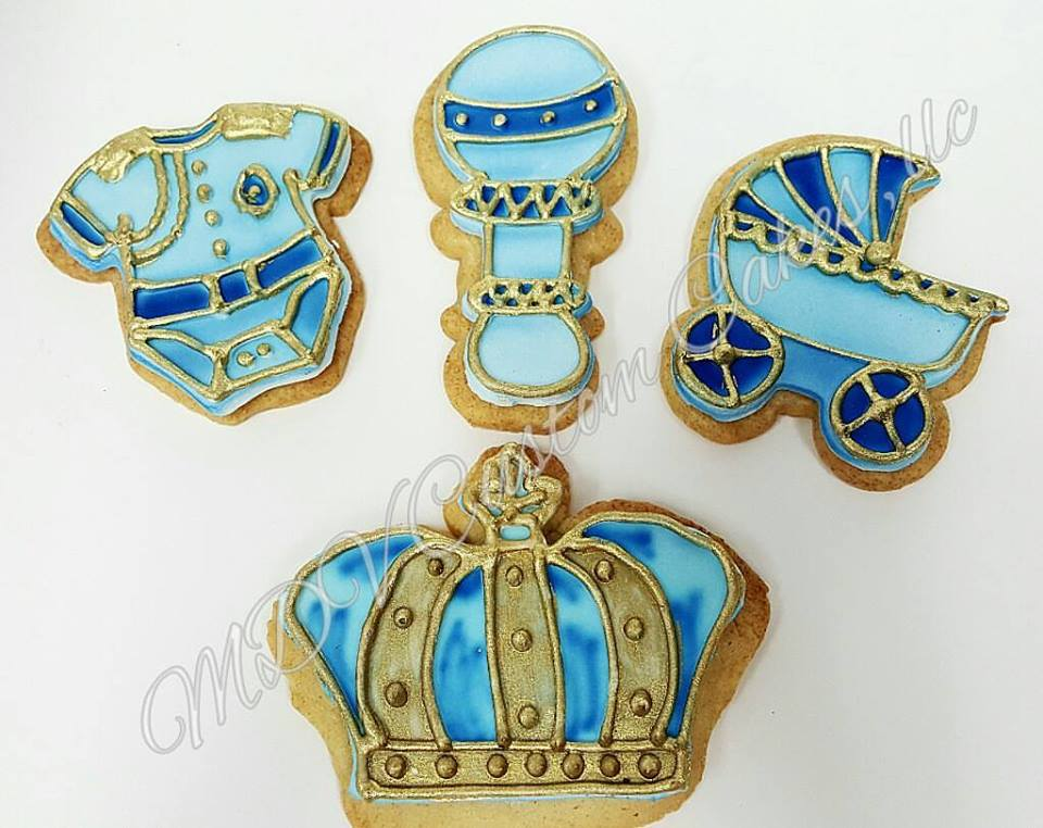 Royal Prince Sugar Cookies
