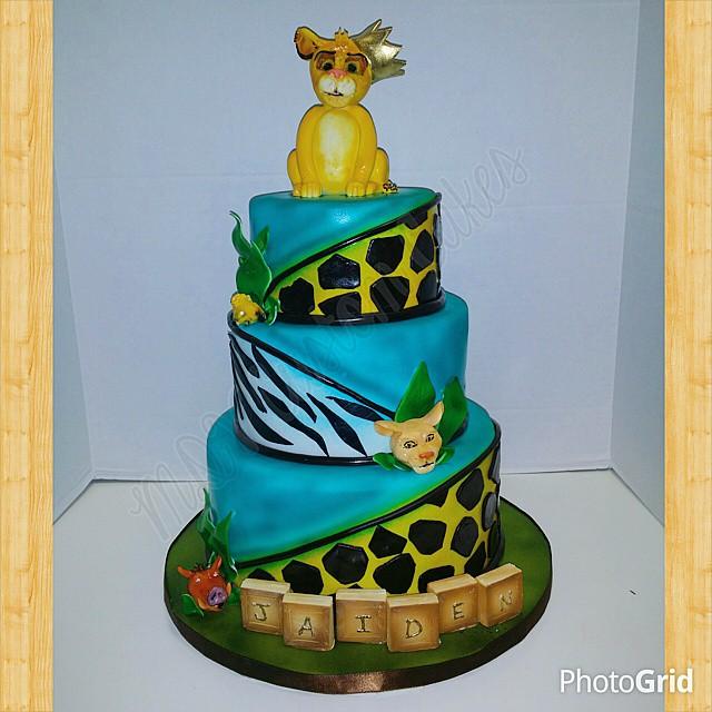 Lion King Safari Themed Babyshower