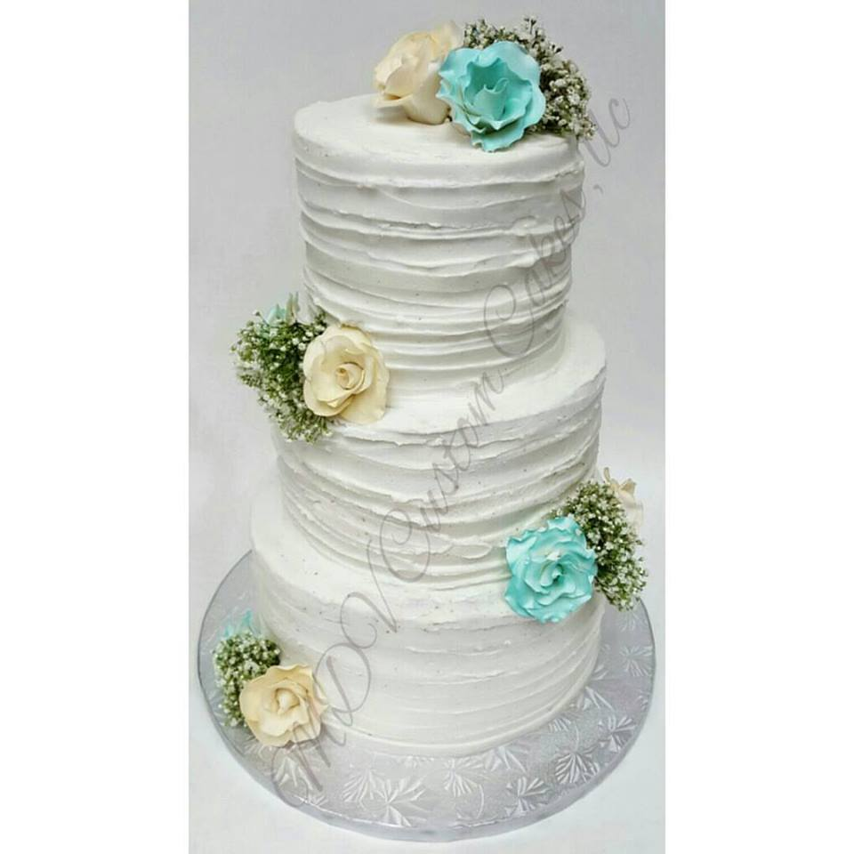 Natural Buttercream Wedding