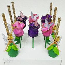 Tinkerbelle & Rose Cake Pops