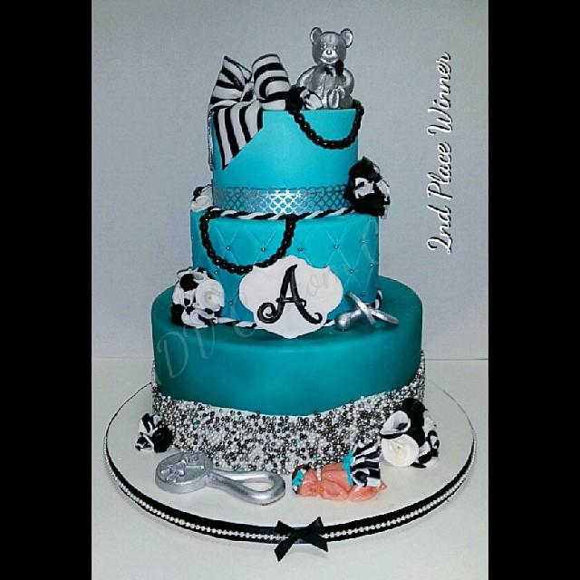 Tiffany Blue Fancy Babyshower