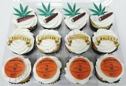 Weed & Basketball Cupcakes
