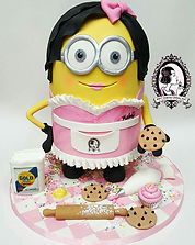 Come to the shop and meet Minion Mel. She's our new display cake.jpg