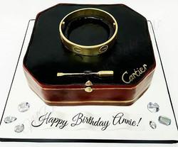 Giant Cartier Bracelet_#cartier #bracelet #mdvcustomcakeboutique #mdvcustomcakes #alledible #westch