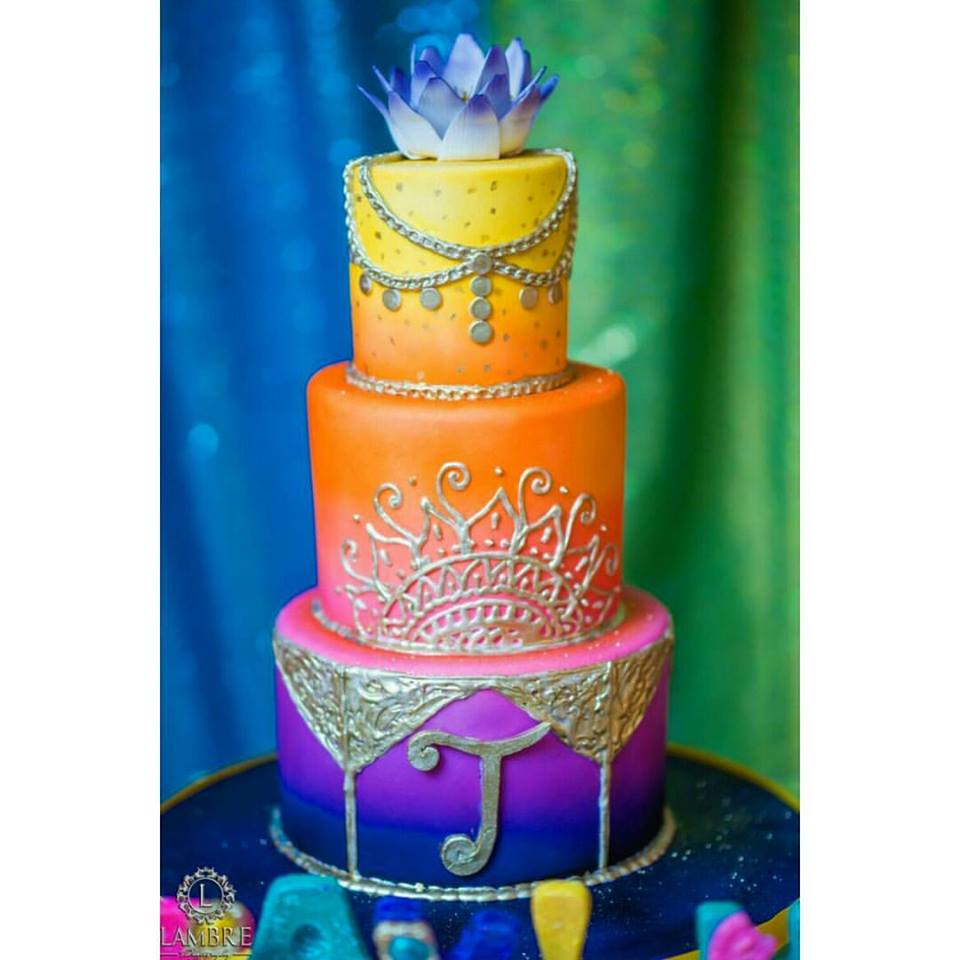 Moroccan Themed Babyshower