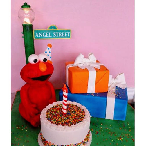 Elmo Birthday Celebration