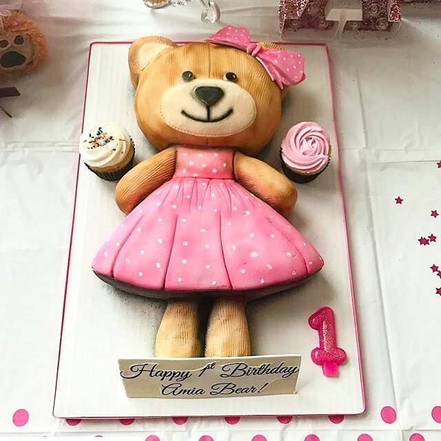 Girly Teddy Bear