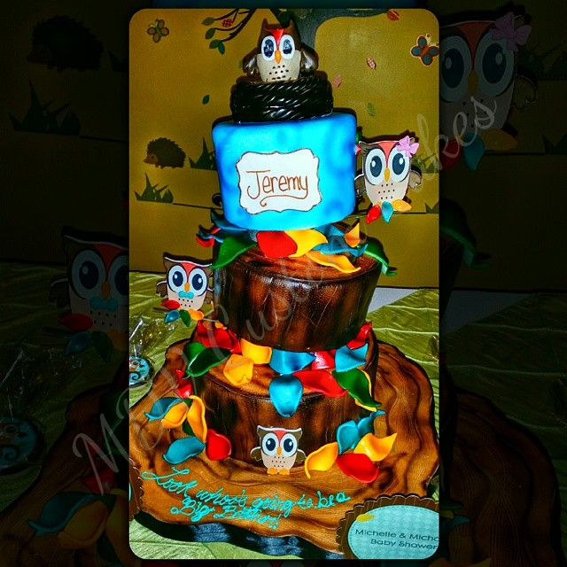 Owl Tree Themed Babyshower