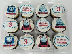 Thomas & Friends Cupcakes