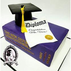Minister Graduation Cake