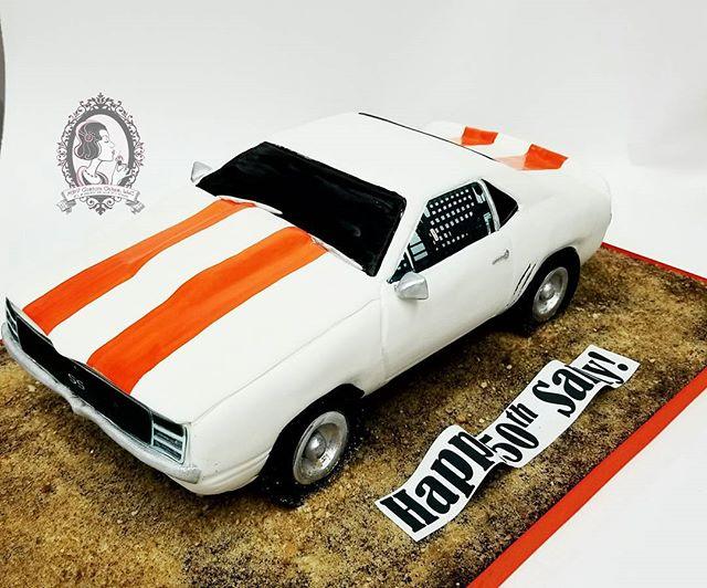 Classic Camaro Cake