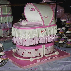 #tbt One of my favorite baby shower cakes_#mdvcustomcakeboutique #mdvcustomcakes #delicious #alledib