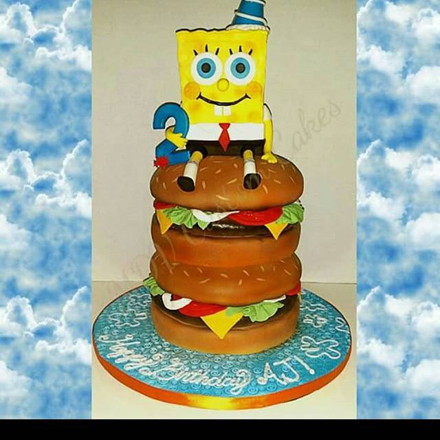 Spongebob Krabby Patty Cake