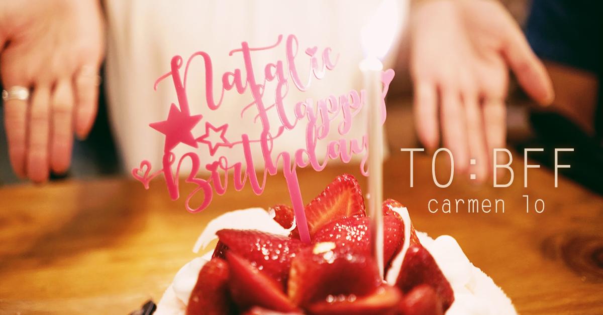 【第一次訂 Birthday Cake Topper!】