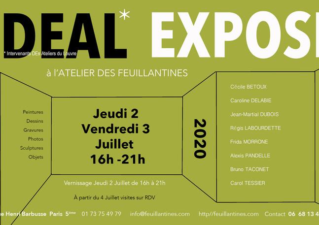 Paris 2 et 3 juillet 2020