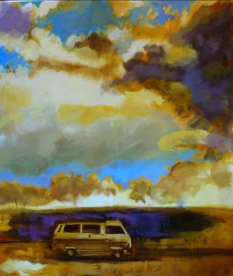 COMBI  /  120 x 100 cm / huile sur toile