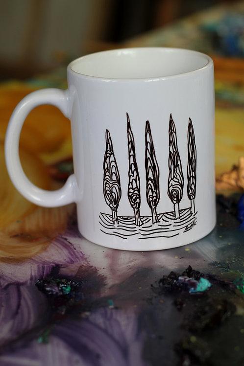 Mug 4 Cyprès