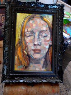 Huile sur bois 30 x 40 cm Collection particulière
